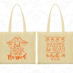 Custom Tote Bags, Tote Bags, Wedding Tote Bags, Personalized Tote Bags, Wedding Welcome Bags, Wedding Bags, Wedding Favor Bags (235)