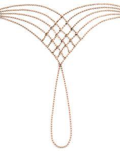 Rose Gold Ball Chain Bracelet - ShoeMint