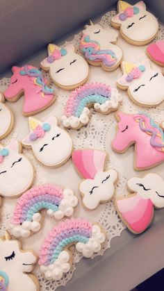 Unicorn cookies I did for a birthday party order! 2019 Unicorn cookies I did for a birthday party order! Unicorn cookies The post Unicorn cookies I did for a birthday party order! 2019 appeared first on Birthday ideas. Rainbow Unicorn Party, Unicorn Themed Birthday Party, Rainbow Birthday, Birthday Party Decorations, 1st Birthday Parties, Girl Birthday, Birthday Ideas, Unicorn Party Decor, Unicorn Birthday Cakes
