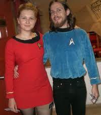 Date night on the Enterprise.