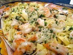 Shrimp Pasta Recipe.