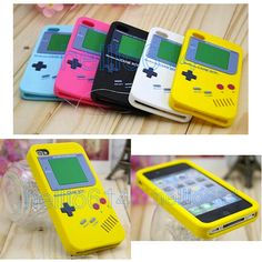 Gameboy iPhone Cases