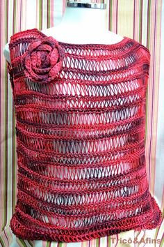 Receita de Tricô: Blusa de verão em tricô