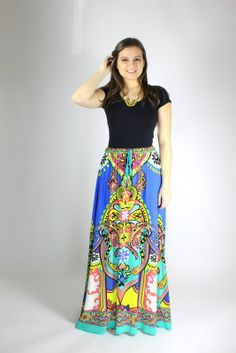 http://823boutique.com/collections/new-arrivals We can't get enough Flying Tomato maxi skirts!  They are so easy to wear and the fun prints bring life to your wardrobe.  They are feminine, flirty and full of boho style!  These skirts are flattering on all body types and they are so easy to throw on with a solid tank or tee, some bangles and a cute necklace!  The colors are black, cream, pink, yellow, jade and coral on a royal background.