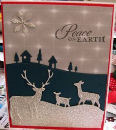 Memory Box die cuts and Stampin' Up paper and sentiment.