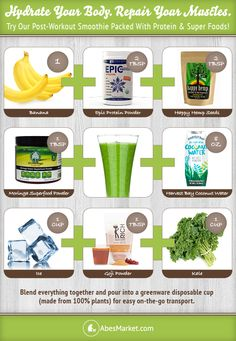 The Scoop | Post-Workout Smoothie Recipe to Hydrate & Fuel Up | Abe's Market