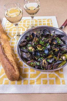 Mussels in white wine - I Love Meat