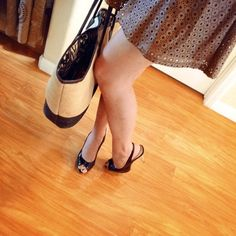 """Slingback + Peep Toe Heels 4.5"""" Slingback & peep toe style 4.5"""" heels. Very feminine. Looks very neat on a foot. Comfy. Gives a lovely look, especially with a skirt/dress. Looking for new feet to fit Mossimo Supply Co Shoes Heels"""