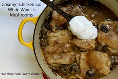An easy and delicious chicken recipe that satiates that French flavor you crave while still being dairy-free!
