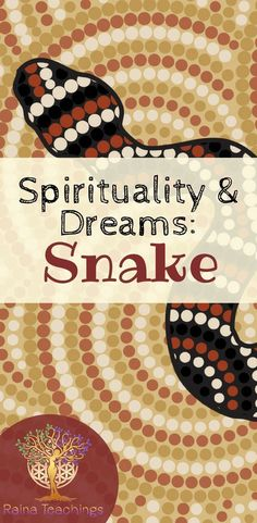 An article about the healing ancestral aspect of the snake in dreams | rainateachings #snakedreams #ancestors #spiritualhealing Psychic Development, Spiritual Development, Self Healing, Emotional Healing, Spiritual Practices, Spiritual Growth, Reiki, Dream Snake, Psicologia
