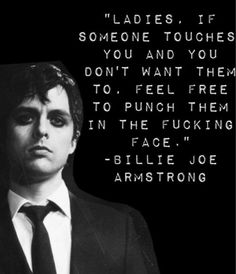Billy joe Armstrong quote
