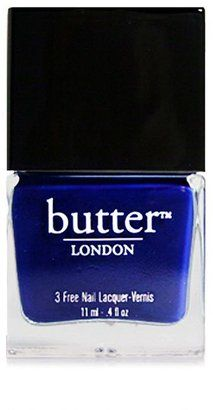 ShopStyle: Butter LONDON 3 Free Nail Lacquer, The Black Knight 0.4 fl oz (9 ml)