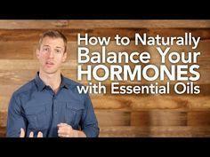 Top 3 Essential Oils to Balance Hormones Naturally - Dr. Axe