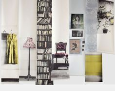 Deborah Bowness    Wallpapers are printed by hand in a small factory on the south coast of England.