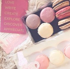 2O15: Valentine's Day Macarons