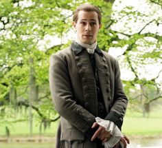 Lord John is intrigued by the daughter of Jamie and Claire Fraser. Outlander Casting, Outlander Tv, Outlander Quotes, Lord John Grey Outlander, Outlander Season 4, Jaime Fraser, Diana Gabaldon Outlander Series, John Gray, Drums Of Autumn