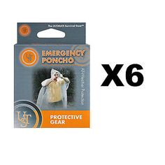 Ultimate survival technologies #emergency poncho #clear #ultralight jacket (6-pac,  View more on the LINK: http://www.zeppy.io/product/gb/2/132057777240/