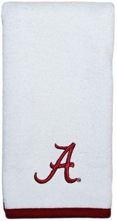 """Alabama Crimson Tide Script """"A"""" Burp Pad"""