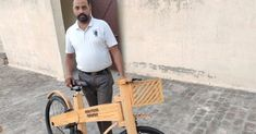 Punjab Carpenter's Lovely Wooden Cycle Goes Viral, Gets Global Orders