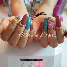 #marianachavezuñas #flowersnails #culiacan