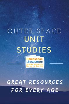 1000+ images about Outer Space Themed Unit Study Resources ...