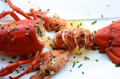 Something about springtime & lobster just feels so right! A simple and easy lobster recipe that's sure to impress.