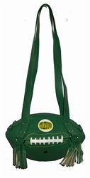 Dark Green Football Shoulder Bag.  Buy it at ReadyGolf.com