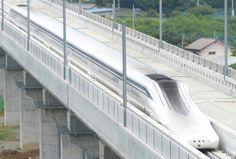 Shinkansen L0 Maglev que ha batido el récord mundial de velocidad: 603 km/h