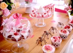 Desserts & decor from a Butterfly Garden Party on Kara's Party Ideas | KarasPartyIdeas.com (15)