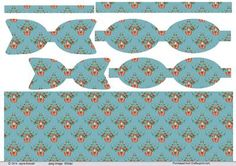Christmas Robin paper Bows and blue background paper on Craftsuprint designed by Jayne Amoah - This design sheet has 2 sizes of printables paper bows and background paper for your craft projects. The pattern is of a robin perch in a floral bouquet with a bow and blue background colour.The completed larger bow measures just under 1.75 x 4.5 inchesand the smaller bow will be 1.5 x 4 in approx. - Now available for download!