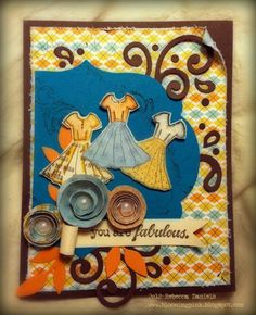 fabulous girl-{ippity} by unity - card created by {ippity} chick rebecca daniels