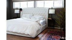 Home Tour: Benji Madden, the Accidental Designer - His house is BEAUTIFUL but I am OBSESSED with this headboard!!