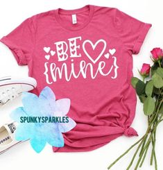 Valentines Day Shirts, Happy Valentines Day, Cute Graphic Tees, Screen Printing, Cool Designs, Promotion Ideas, My Etsy Shop, Unisex, Big