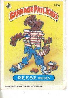 Garbage Pail Kids 1986 #149b Reese Pieces