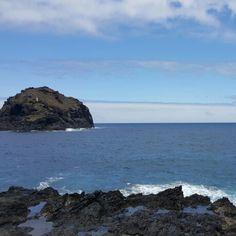 Volcanic sea