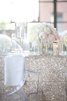 102 best silver wedding decorations images on pinterest silver color inspiration shining silver wedding ideas junglespirit Choice Image