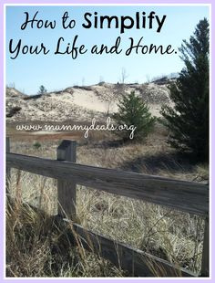 How to Simplify Your Life and Home from @Clair @ Mummy Deals is 7 tips for a simple life!
