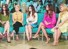 Troian, Ashley, Lucy , Shay and Sasha