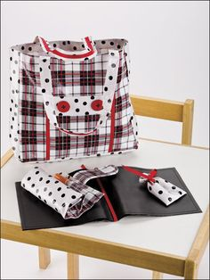 Sewing - Bags & Totes - Take-Along Tote