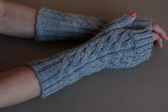 modèle mitaine au tricot gratuit