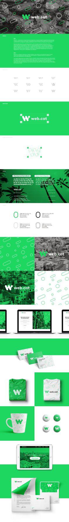 Web.cat on Behance