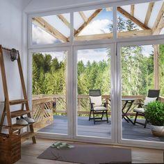 Wenn ihr den Frühling vermisst, könnt ihr euch schonmal damit beschäftigen eure Terrasse auf vordermann zu bringen. Die Holzterrasse wurde designed von Polygon arch&des. #terrasse #holzterrasse #homify