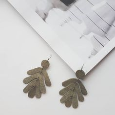 Leather earrings Leather Earrings, Chain, Beads, Handmade, Accessories, Jewelry, Beading, Hand Made, Jewlery