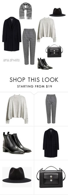 """Untitled #30"" by anashvets on Polyvore featuring мода, H&M, Topshop, Acne Studios, MSGM, Azalea, Balenciaga и Mulberry"
