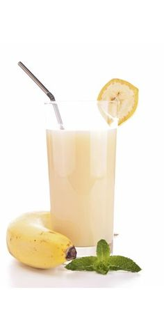A whole website of drink recipes! including this Banana Snowman