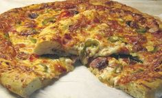 Cooking Time, Cooking Recipes, The Kitchen Food Network, Greek Recipes, Food Network Recipes, Vegetable Pizza, Quiche, Food And Drink, Vegetarian