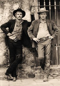 Robert Redford & Paul Newman gorgeous men in a great movie