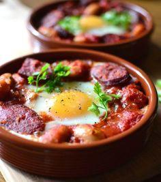 Sült spanyol tojás