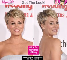 Kaley Cuoco's Makeup At 'The Wedding Ringer' Premiere — Pretty ...