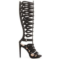 cc4f749a2b9 Luxe By JustFab - Messalina - Black. Gladiator Sandals HeelsBlack Platform  ...